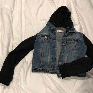 Black and jean jacket from PacSun!